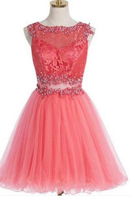 Short Homecoming Dress,peach homecoming dress,homecoming dress with lace,two piece homecoming dress,Freshman dress,simple homecoming dress,cheap homecoming dressPD0080201