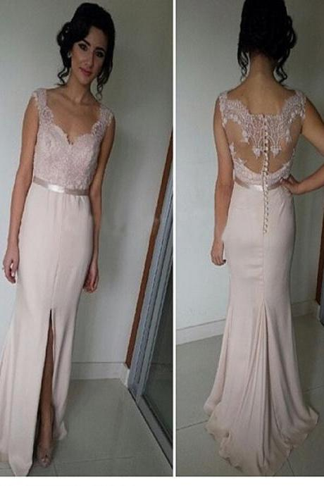 Long Custom Prom Dress,Pink prom dress, Prom dress with lace, Mermaid prom dress, Simple Cheap prom dress, Mermaid prom dress, Dress for prom, Casual dress. PD01261